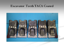 Excavator Teeth TACA Coated