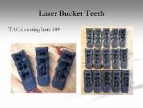 Laser Bucket Teeth