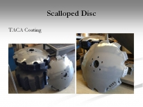 Scalloped Disc