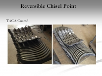 Reversible Chisel Point