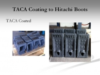 TACA Coating to Hitachi Boots