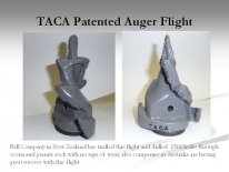 TACA Patented Auger Flight